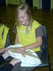 p_09__Visit_from_rapid_reptiles_to_1st_rydes_hill_brownies_2